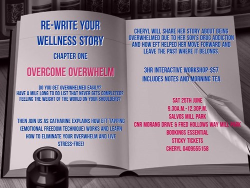 Re-Write Your Wellness Story - Overcome Overwhelm
