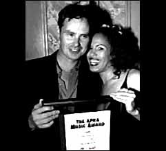 Neil Murray and Christine Anu