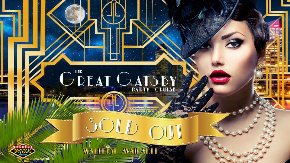 96fc751862ba The Great Gatsby Party Cruise - Friday 14 June - Sticky Tickets