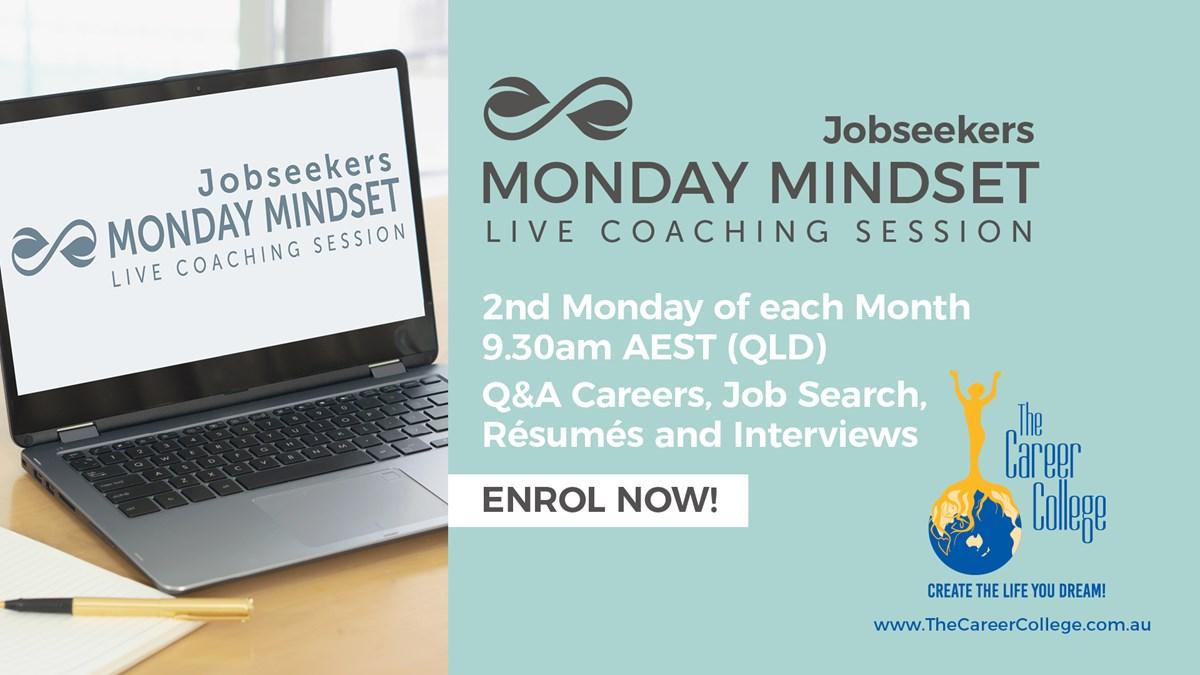 Jobseekers MONDAY MINDSET